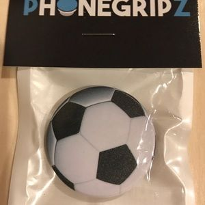 Soccer Universal Phone Grip Stand New